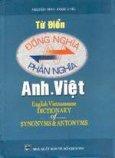 Từ điển đồng nghĩa & phản nghĩa Anh- Việt