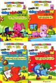 Combo EQ - IQ Luyện Trí Thông Minh Cho Trẻ Từ 2 - 6 Tuổi (Bộ 4 Cuốn)