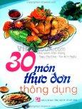 30 Món Thực Đơn Thông Dụng