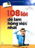108 Lỗi Dễ Làm Hỏng Việc Nhất