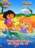 Tô Màu Theo Truyện Kể Cùng Dora - Vương Miện Thần Kì Của Nàng Tiên Cá!