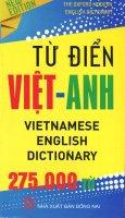 Từ Điển Việt - Anh (Khoảng 275.000 Từ) - Khổ 10 x 16