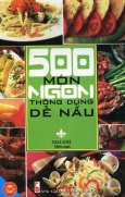500 Món Ngon Thông Dụng Dễ Nấu
