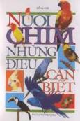 Nuôi chim - Những điều cần biết