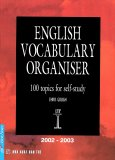 English Vocabulary Organiser - 100 Topics For Self-Study