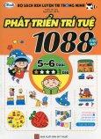 Bộ Sách Rèn Luyện Trí Thông Minh - 1088 Câu Đố Phát Triển Trí Tuệ 5 - 6 Tuổi (Cấp Độ 1 Sao)
