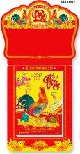 Lịch Bloc Đại Lớn Đặc Biệt (16 x 24) - Bonsai Trà Đạo (Đầu Treo Đinh Dậu Phát Tài)