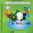 Bộ Sách Từ Vựng Tiếng Anh, Hoa, Việt Dành Cho Bé - Trái Cây Rau Quả 1