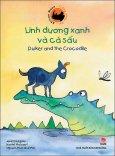 Trăng Châu Phi - Linh Dương Xanh Và Cá Sấu (Song Ngữ)