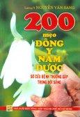 200 Mẹo Đông Y Nam Dược - Sơ Cứu Bệnh Thường Gặp Trong Đời Sống