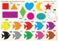 Cùng Con Chơi Và Học: Shapes, Colors - Hình Khối, Màu Sắc