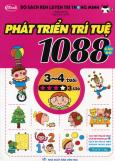 Bộ Sách Rèn Luyện Trí Thông Minh - 1088 Câu Đố Phát Triển Trí Tuệ 3 - 4 Tuổi (Cấp Độ 3 Sao)