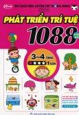 Bộ Sách Rèn Luyện Trí Thông Minh - 1088 Câu Đố Phát Triển Trí Tuệ 3 - 4 Tuổi (Cấp Độ 1 Sao)