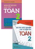 Combo Rèn Kĩ Năng Học Tốt Toán 2 + Bài Tập Trắc Nghiệm Và Đề Tự Kiểm Tra Toán 2