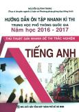 Hướng Dẫn Ôn Tập Nhanh Kì Thi Trung Học Phổ Thông Quốc Gia Năm Học 2016-2017 - Tiếng Anh
