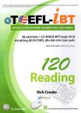 Tài Liệu Luyện Thi Trắc Nghiệm TOEFL Qua Mạng - 120 Reading (Kèm 1 CD) - Tái Bản 2014