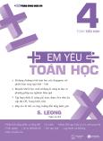 Em Yêu Toán Học - Tập 4 (Song Ngữ Anh - Việt)