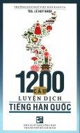1200 Câu Luyện Dịch Tiếng Hàn Quốc