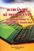 26 Chuẩn Mực Kế Toán Việt Nam Và Toàn Bộ Thông Tư Hướng Dẫn Các Chuẩn Mực