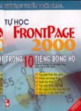 Tự học Fronpage 2000 trong 10 tiếng đồng hồ