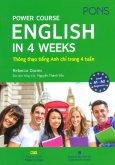 Power Course English In 4 Weeks - Thông Thạo Tiếng Anh Chỉ Trong 4 Tuần (Kèm 1 CD)