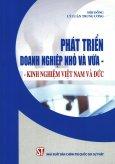 Phát Triển Doanh Nghiệp Nhỏ Và Vừa - Kinh Nghiệm Việt Nam Và Đức