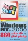 Microsoft Windows NT & 2000 860 vấn đề và giải pháp