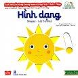 Sách Chuyển Động Thông Minh Đa Ngữ Việt - Anh - Pháp: Hình Dạng