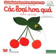 Sách Chuyển Động Thông Minh Đa Ngữ Việt - Anh - Pháp: Các Loại Hoa Quả
