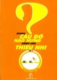 Những Câu Đố Hào Hứng Dành Cho Thiếu Nhi - Tập 8: IQ Tháo Vát
