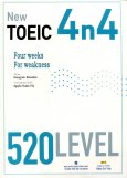 New Toeic 4n4 - 520 Level (Dùng Kèm 1 MP3)