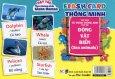 Flash Card Thông Minh - Thẻ Học Từ Vựng Tiếng Anh Cho Bé: Động Vật Biển