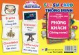 Flash Card Thông Minh - Thẻ Học Từ Vựng Tiếng Anh Cho Bé: Phòng Khách