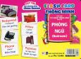 Flash Card Thông Minh - Thẻ Học Từ Vựng Tiếng Anh Cho Bé: Phòng Ngủ