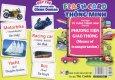 Flash Card Thông Minh - Thẻ Học Từ Vựng Tiếng Anh Cho Bé: Phương Tiện Giao Thông
