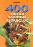 400 món ăn bổ dưỡng và tăng lực