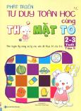 Phát Triển Tư Duy Toán Học Cùng Thỏ Mặt To (2 - 3 Tuổi) - Tập 5