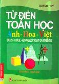 Từ Điển Toán Học Anh - Hoa - Việt