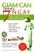 Giảm Cân Trong 7 Ngày Bằng Chế Độ Ăn Uống Kiểu Việt Nam