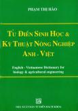 Từ Điển Sinh Học Và Kỹ Thuật Nông Nghiệp Anh - Việt