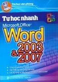 Tin Học Văn Phòng - Tự Học Nhanh Microsoft Office Word 2003 Và 2007
