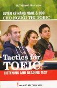 Luyện Kỹ Năng Nghe & Đọc Cho Người Thi TOEIC (Kèm 1 CD)