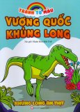 Tranh Tô Màu Vương Quốc Khủng Long - Khủng Long Ăn Thịt