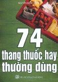 74 Thang Thuốc Hay Thường Dùng