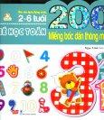 200 Miếng Bóc Dán Thông Minh - Bé Học Toán (2-6 Tuổi) - Tái Bản 2018
