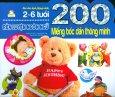 200 Miếng Bóc Dán Thông Minh - Rèn Luyện Ngôn Ngữ (2-6 Tuổi) - Tái Bản 2018