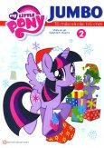 My Little Pony - Jumbo Tô Màu Và Các Trò Chơi (Tập 2) - Tái Bản 2018