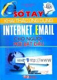 Sổ Tay Khai Thác Ứng Dụng Internet, Email Cho Người Mới Bắt Đầu