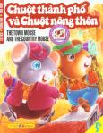 Cổ Tích - Song Ngữ - Dán Hình - Chuột Thành Phố Và Chuột Nông Thôn