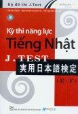 Kỳ Thi Năng Lực Tiếng Nhật J.Test (E - F)